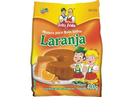 MISTURA PARA BOLO LARANJA 400G