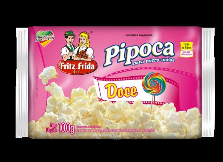 PIPOCA PARA MICRO-ONDAS DOCE 100G