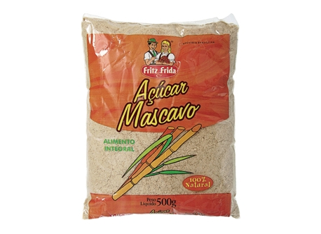 ACUCAR MASCAVO FRITZEFRIDA 500G