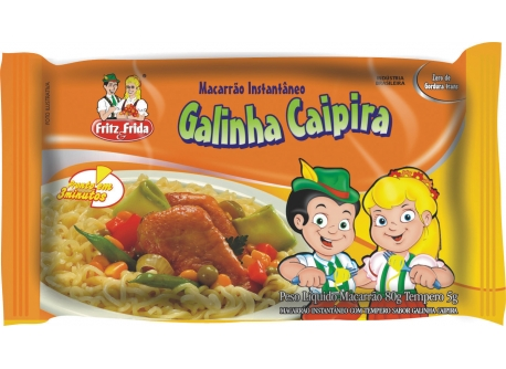 MACARRÃO INSTANTÂNEO GALINHA CAIPIRA 80G