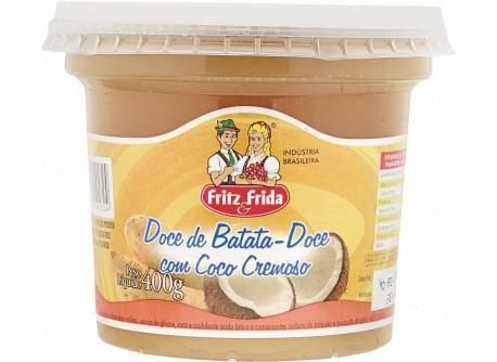 DOCE DE BATATA COM COCO 400G