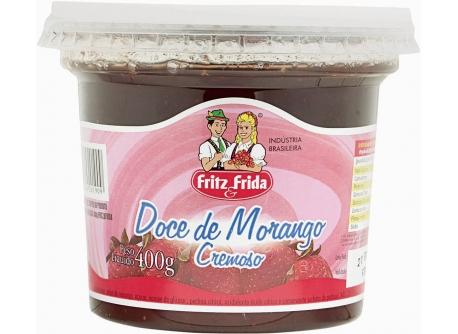 DOCE FRUTA MORANGO FRITZEFRIDA 400G CX/6