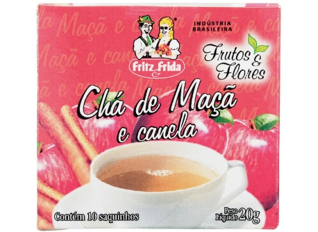 CHÁ DE MAÇÃ COM CANELA 20G