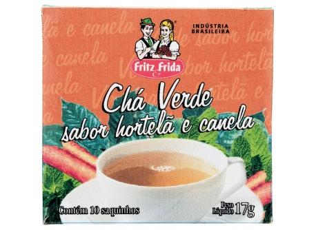 CHÁ VERDE COM HORTELÃ E CANELA 17G