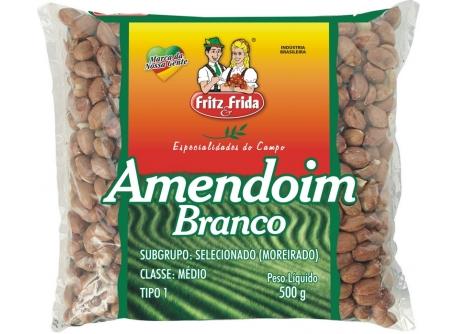 AMENDOIM BRANCO PREMIUM FRITZEFRIDA T-1 FD/10X500G