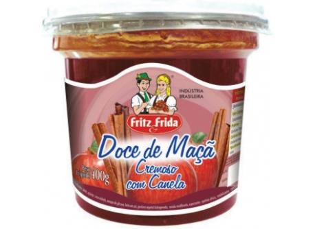 DOCE DE MAÇÃ COM CANELA 400G