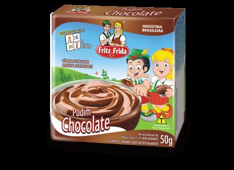 PUDIM DE CHOCOLATE 50G