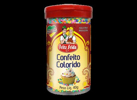 POTE CONFEITOS COLORIDOS 40G