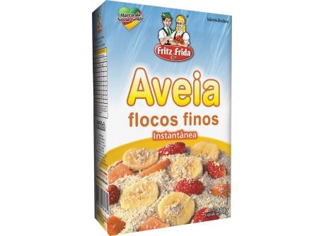 AVEIA FLOCOS FINOS FRITZEFRIDA 250G