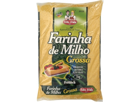 Farinha de Milho Grossa Farinha de Milho Grossa 1kg
