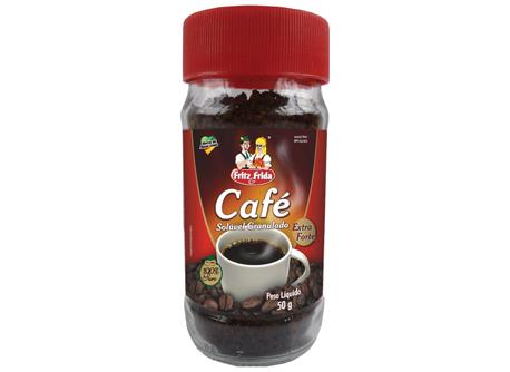 CAFÉ SOLÚVEL 50G VIDRO