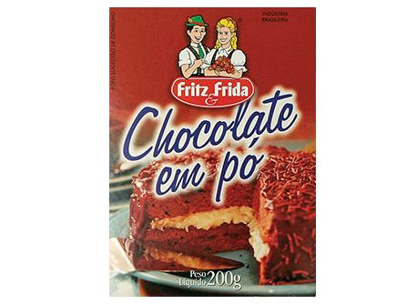 CHOCOLATE EM PÓ 200G