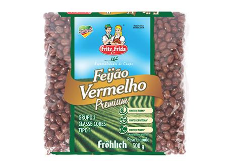 FEIJÃO VERMELHO PREMIUM 500G