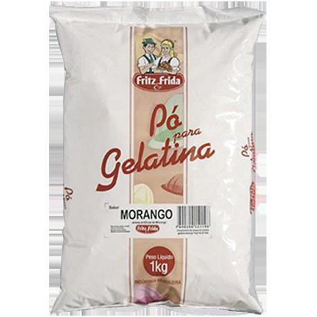 GELATINA DE MORANGO 1KG