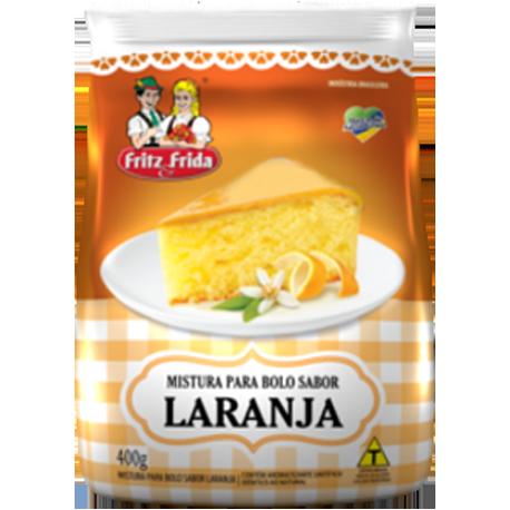 MISTURA PARA BOLO DE LARANJA 400G