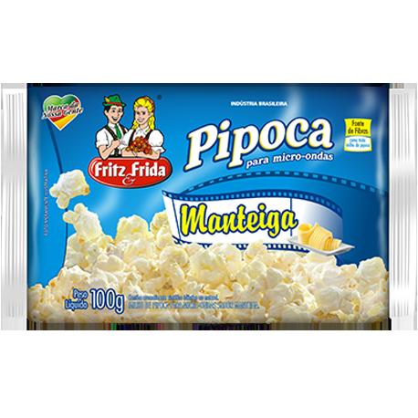 PIPOCA PARA MICRO-ONDAS MANTEIGA 100G
