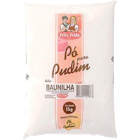 PUDIM DE BAUNILHA 1KG