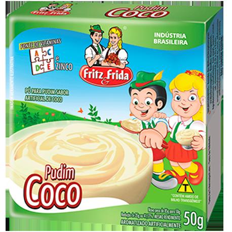 PUDIM DE COCO 1KG
